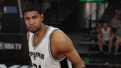 Tim Duncan w/out 3D beard PREVIEWS - NBA 2K15 at ModdingWay