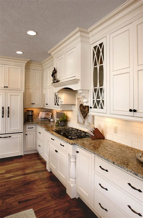 kitchens graceful glass doors showplace cabinetry