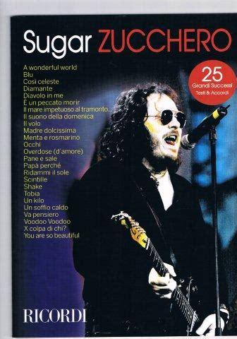 wonderful zucchero testo vendita di spartiti musicali libri di musica cd