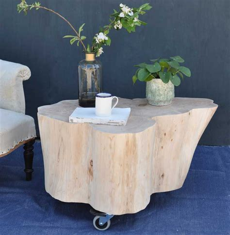 Flavor drink powder series includes a variety of drink ingredients, they could also be used as. Tree Trunk Coffee Table on Wheels in Bleached Natural Timber   Tree trunk coffee table, Coffee ...