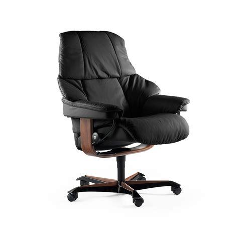 fauteuil bureau stressless stressless sessel reno home office m black