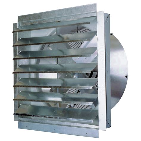 exhaust fan with shutter maxxair exhaust fan with shutter 30in 1 2 hp 5 500