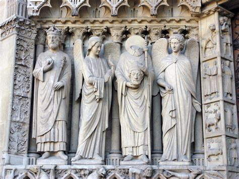 west facade  notre dame cathedral paris french moments