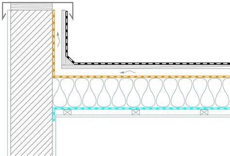flachdach holzkonstruktion detail flachd 228 cher in holzbauweise mit zwischensparrend 228 mmung pro clima deutschland das blogpro