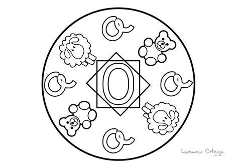 Pin de Sonia Erika en vocales Mandalas para colorear