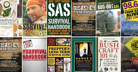 The Ultimate List Of The Best Prepping And Survival Books