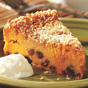 Sweet Potato Pudding Cake Recipe - EatingWell