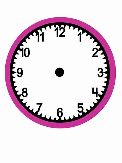 Without Clock Numbers Clocks Hands Clipart Cliparts