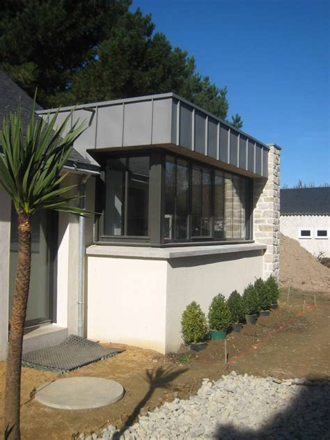 extension cuisine sur jardin extension d 39 une maison à penvins 56 briquet jacquis