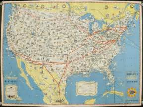 American Airlines Route Map United States