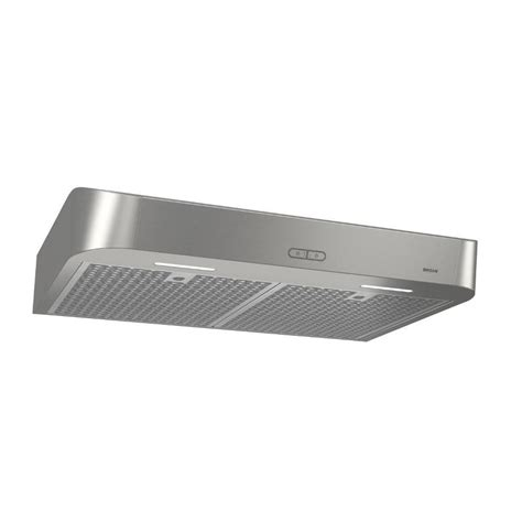 lowes under cabinet range hood shop broan undercabinet range hood stainless common 30