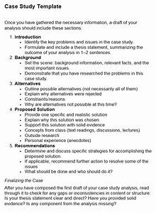 Case Study  Basic Guide For Students  With Examples