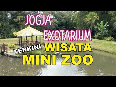 zona wisata jogja exotarium mini zoo sleman