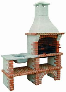 Barbecue De Jardin : my barbecue barbecue en brique de jardin avec vier ce3050f ~ Premium-room.com Idées de Décoration