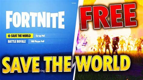 fortnite save  world   easy