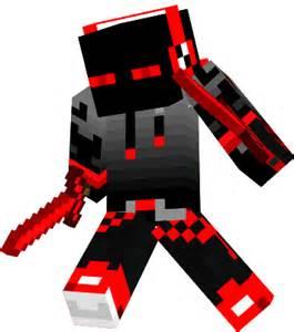 Red Cool Boy Minecraft Skin