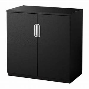 galant cabinet with doors black brown ikea With meuble 80x80