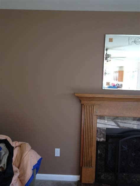 behr cozy cottage and blanket brown wall paint paint