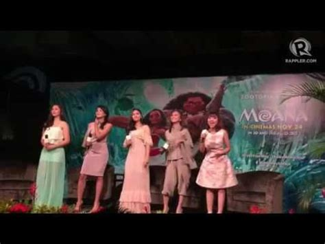 janella salvador singing janella salvador sings moana song with sea stars moana
