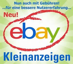 Ebay Gebühren Berechnen : ebay kleinanzeigen erhebt nun auch geb hren ~ Themetempest.com Abrechnung