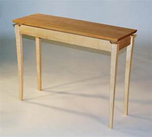 RICK HELMS WOODWORKING--Floating Top Table