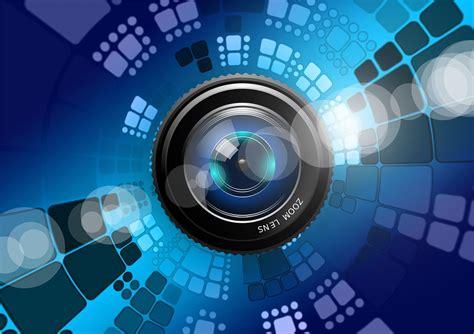 illustration lens photography blue desktop