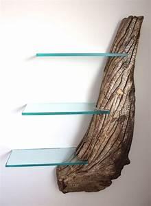 Wandregal Glas Wohnzimmer : driftwood bookshelf craig kimm custom woodwork pinterest meubles moderne et ~ Sanjose-hotels-ca.com Haus und Dekorationen