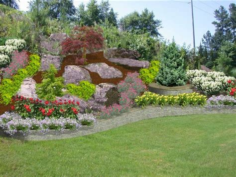 backyard hillside landscaping backyard hillside