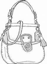 Purse Drawing Clipart Purses Wallet Cad Getdrawings Behance Transparent Handbag Webstockreview Bag sketch template