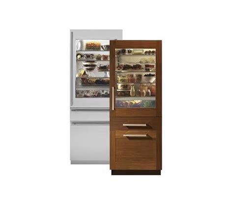 monogram zikgnhii  integrated glass door refrigerator castle kitchens