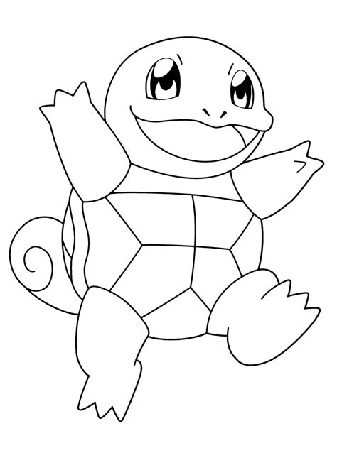squirtle coloring pages coloring home