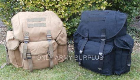Military Canvas Rucksack / Backpack / Day Sack 35litre