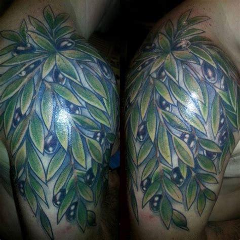 olive tree tattoo designs  men olea europaea ink ideas