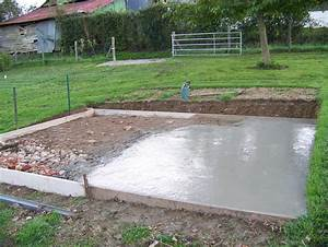 comment faire une dalle de beton pour garage dalle beton With comment faire une dalle de beton pour garage