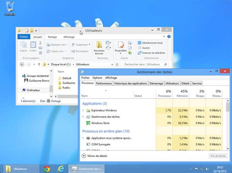 bureau windows 8 comment avoir un bureau windows 8