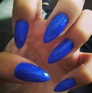 Stiletto Nails Royal Blue | www.imgkid.com - The Image Kid ...