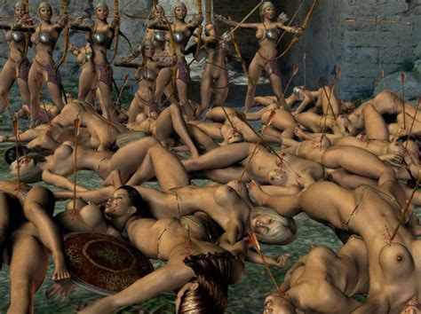 Ретро порно фильм где мужик попадает в плен к амазонкам