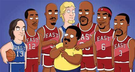 Sports Stars In Cartoons