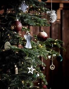Dessin Sapin De Noel Moderne : arbre de no l toutes nos id es pour un arbre de no l styl elle ~ Melissatoandfro.com Idées de Décoration