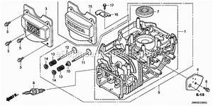 Honda Gcv160 Parts List And Diagram