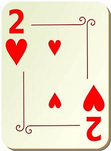 Playing Card Heart Clipart (41+)