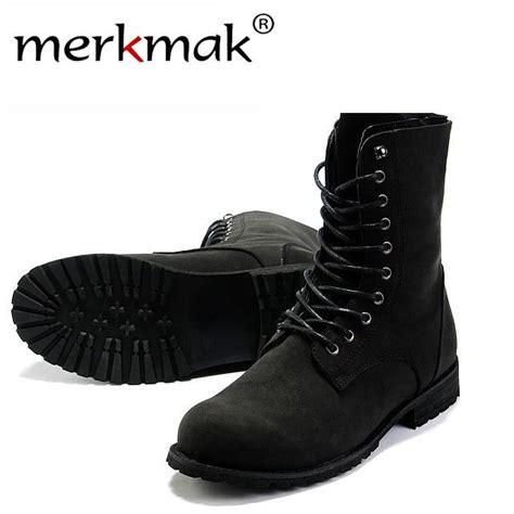 Wholesale Retro Combat Boots Winter England Style