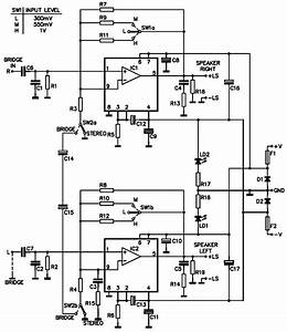 200w mono stereo power amplifier using tda1514a With mono amplifier circuit diagram schematics