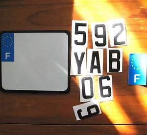 Acheter Plaque Immatriculation : une fausse plaque d 39 immatriculation moto zero ~ Gottalentnigeria.com Avis de Voitures