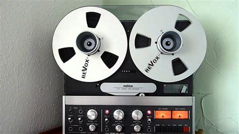 revox b77 reel track recorder