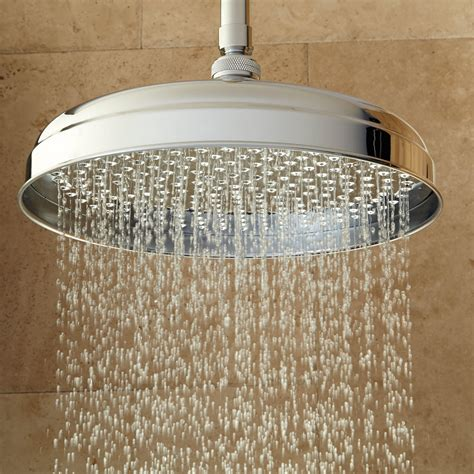 headed shower lambert ceiling mount rainfall shower bathroom