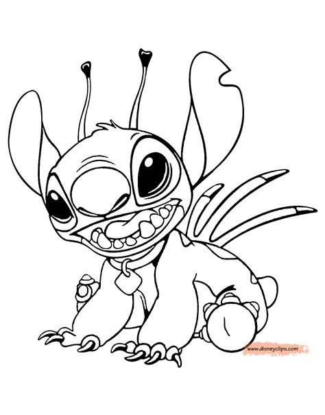 lilo and stitch coloring pages stitch coloring page coloring home