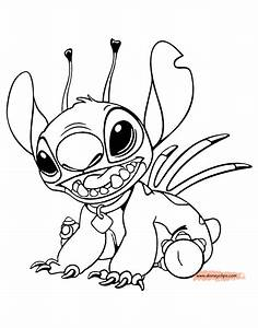 Lilo and Stitch Printable Coloring Pages | Disney Coloring ...