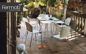 tous les produits deco de fermob decofinder With wonderful mobilier de jardin fermob 2 chaise longue de jardin alize fermob bain de soleil en