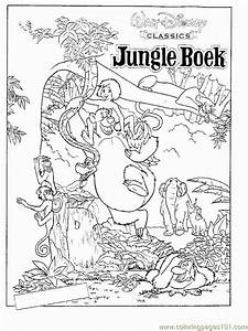 Coloring Pages Free Printable Coloring Page Jungle Book 17 Cartoons Gt Jungle Book Animal